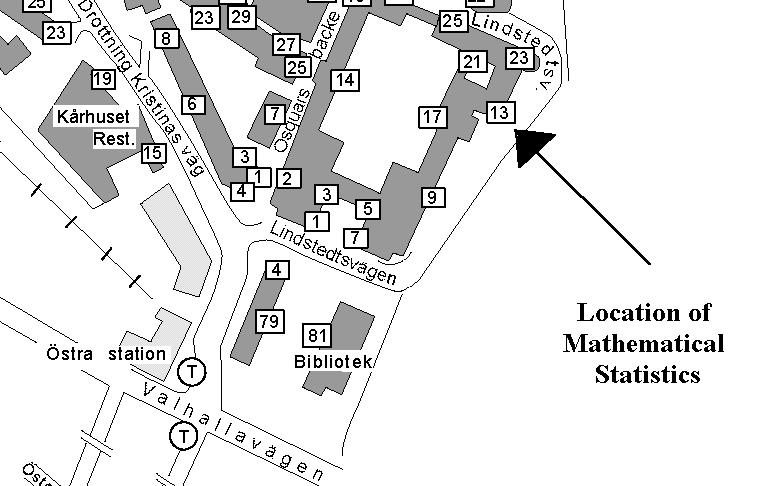 kth karta Map over Subway and KTH area kth karta